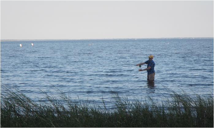 Bream Fishermen Fishing in